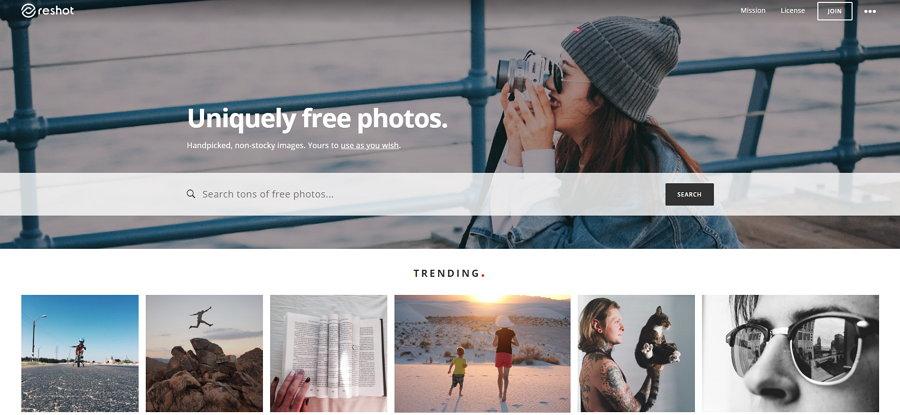 Bancos-de imágenes-Reshot