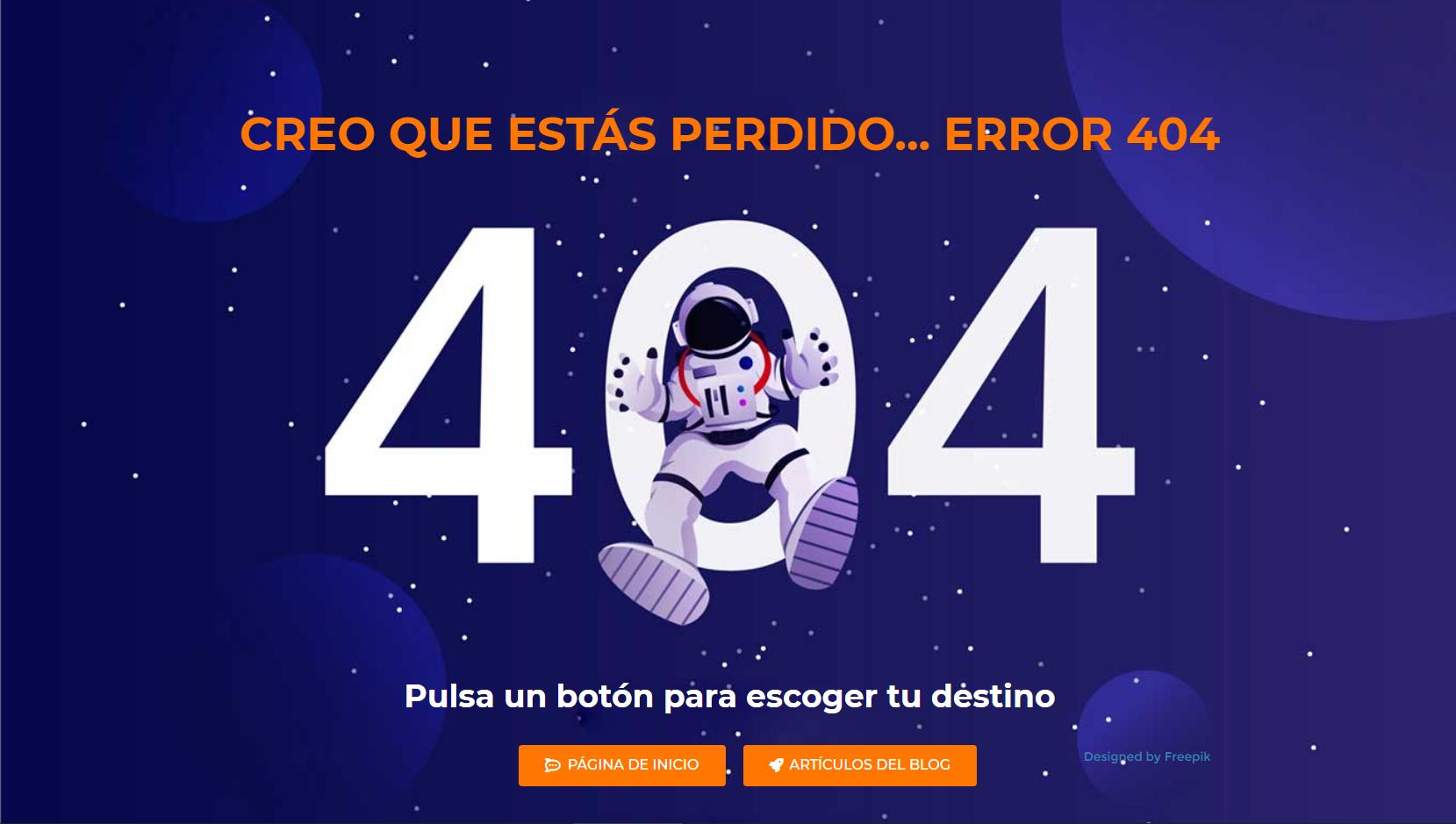 Qué es el error 404