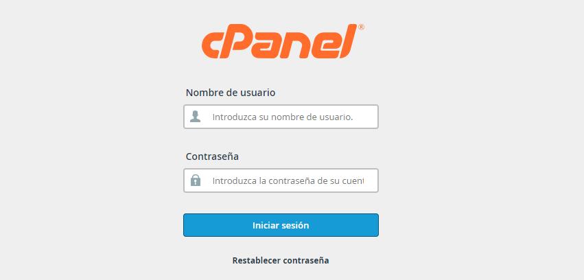 instalar wordpress con un clic CPanel