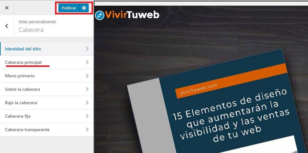 instalar wordpress con un clic personalizar un tema