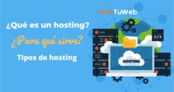 que es un hosting y para que sirve