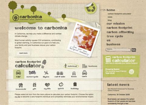 Crear una web estratégica: Carbonica