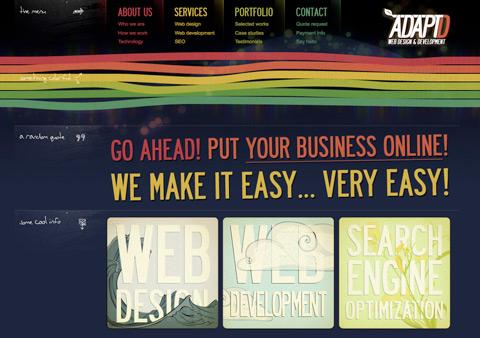 diseño web estratégico: ADAPTD