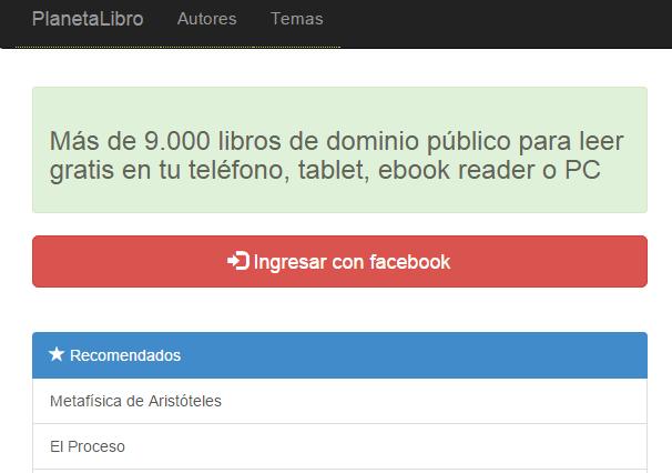 Descargar ebooks gratis en español planeta libro