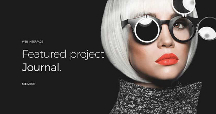 Diseño web minimalista ejemplos Flatstudio