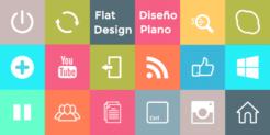 ¿Qué es el flat design o diseño plano? Ejemplos y características