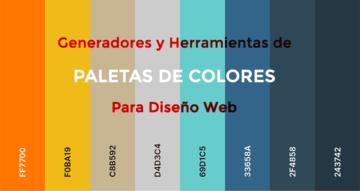 Generadores de paletas de colores online Gratis